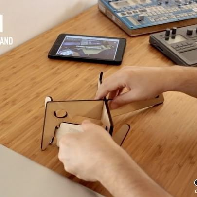 This video shows how to assemble a KOLIBRI laptop & tablet stand, plus possible uses with different devices, and four-in-one ergonomic configurations.  Find it on our webshop: http://cremacaffedesign.com/kolibri/  Available in three different finishes: natural wood, walnut and black water based stain.  #cremacaffedesign #kolibristand #laptopstand #tabletstand #ipadstand #korg #electribe #macbook #tabletop #stand #design #homeoffice #studiolife #ergonomia #ergonomic #ergonomics #digitalnomad