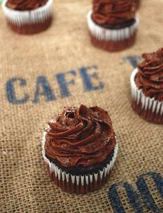 Blackout Espresso Cupcakes