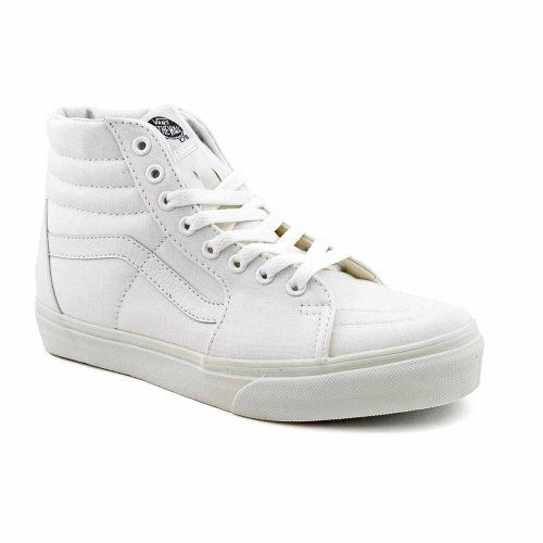 Vans Sk8 Hi New Skate Shoes White Mens « Shoe Adds for your Closet