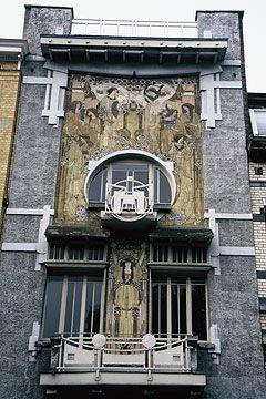 Cauchie House, Brussels, Belgium