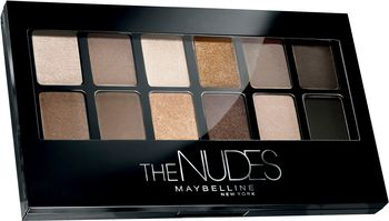 Maybelline Eye Shadow Pallet The Nudes