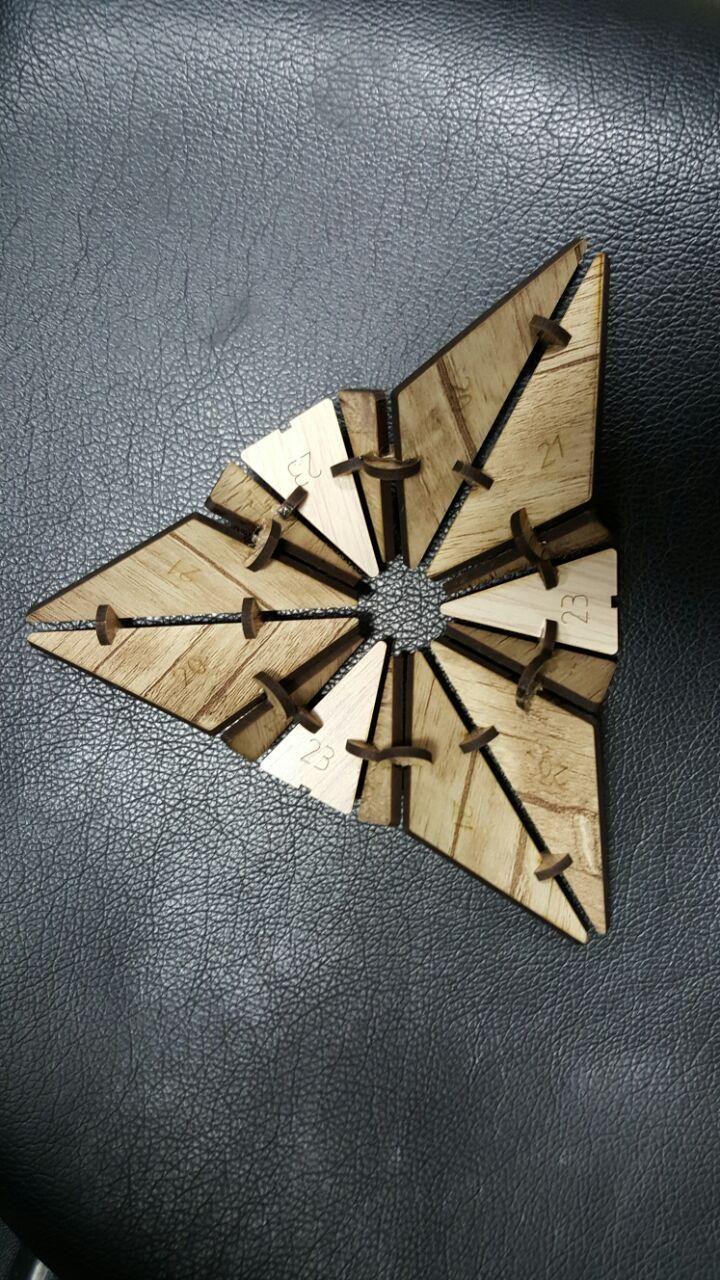 grasshopper + rhino + laser cut  https://www.instagram.com/sabimajidi/