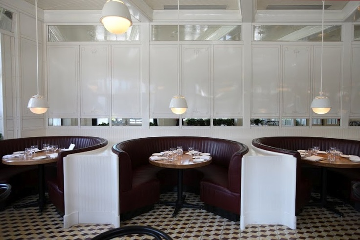cool banquets @ the Standard Grill located in NYC by Roman and Williams Interiors