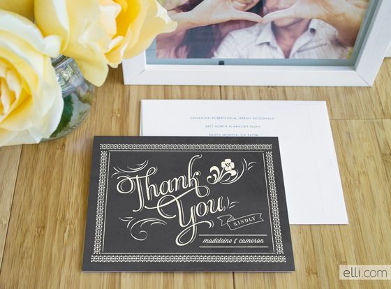 I love the designs from Ellinee.  Check out this giveaway of a $75 gift voucher for custom thank you cards!  I hope I win.