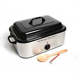 Deluxe Hot Stone Heater   18 Quart Available from ViVi Therapy, Victoria, BC.  www.vivitherapy.com