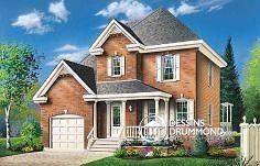 Plan de maison no. W2461 de dessinsdrummond.com