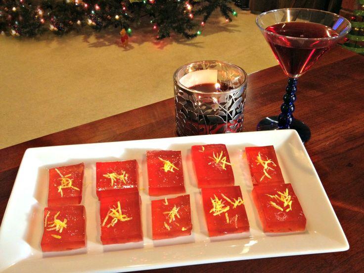 Cosmopolitan Jello Shot Recipe! PERFECT FOR NEW YEAR! <3