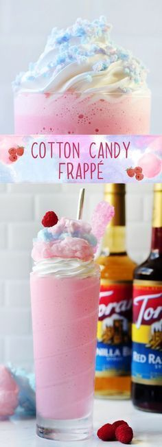 Life is so much better with cotton candy, right? So naturally, we decided to create a Cotton Candy Frappé to celebrate National Cotton Candy Day! Enjoy this anyday, anytime! PS: you may have heard of the Starbucks Cotton Candy Frappuccino available on their secret menu. We think this one tastes just like it!