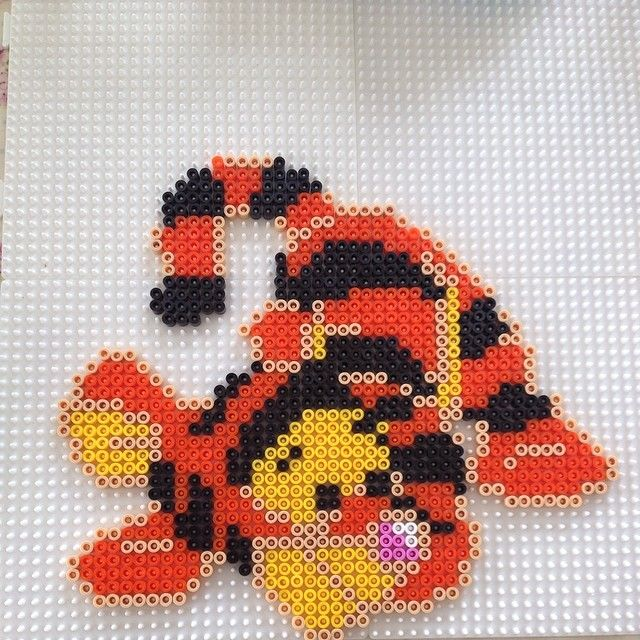 Baby Tigger hama beads by bywith                                                                                                                                                                                 More