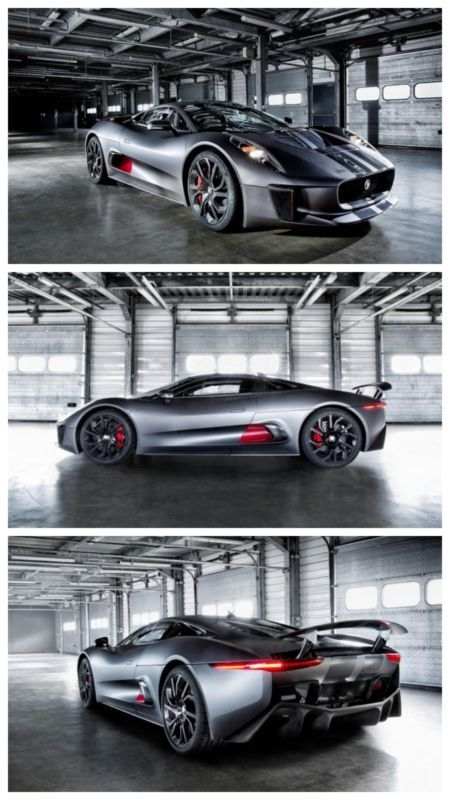 Jaguar C-X75 to star in new James Bond film Spectre. The Baddies get some seriously cool cars. Click to check them out! #spon #007