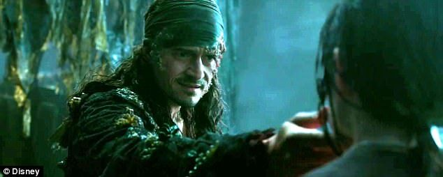Look who's back! Orlando Bloom's character, Will Turner, has made his triumphant return in a new trailer for the upcoming film, Pirates of the Caribbean: Dead Men Tell No Tales