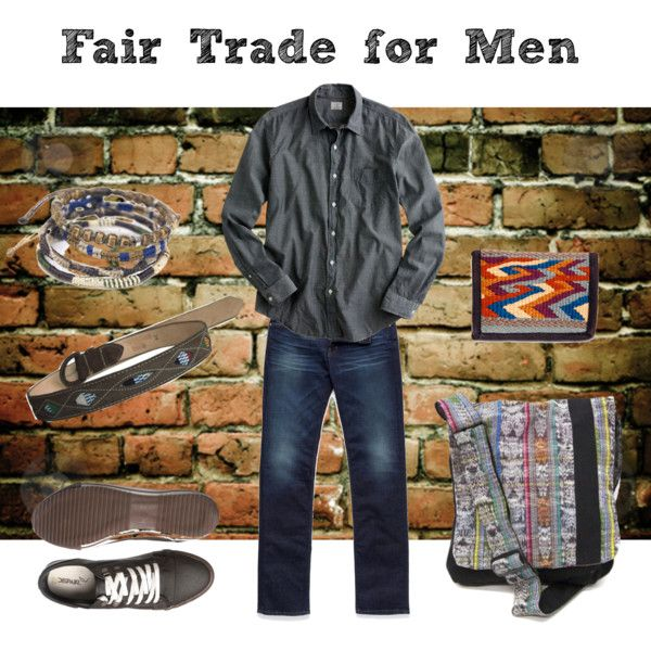 Fair Trade for Men, created by uniquebatikfairtrade on Polyvore