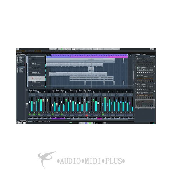 Steinberg Cubase 9 Pro Advanced Music Production System Retail Edition - 46320 - 802240463207