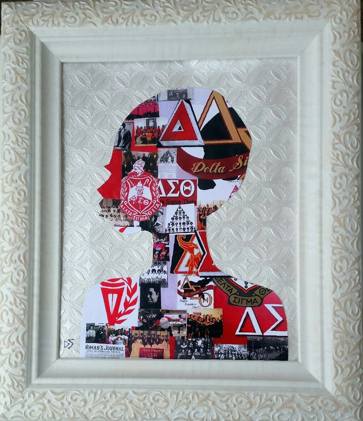 Portrait of a Sister of Delta Sigma Theta Sorority,Inc. By Derek Jay Dent