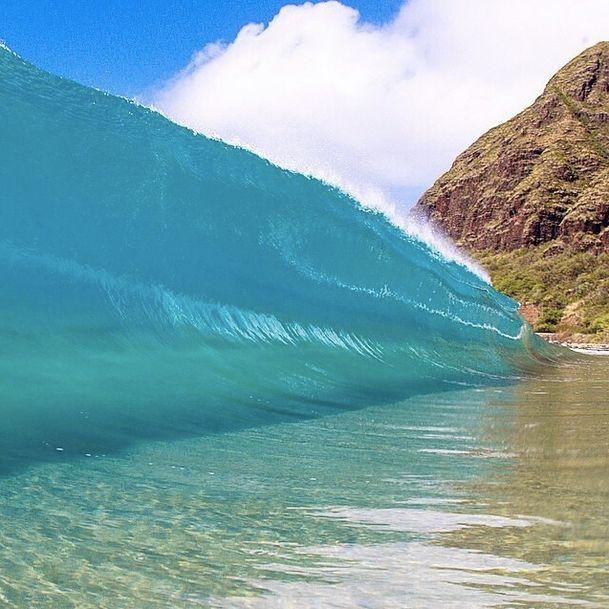 how to say ocean wave in hawaiian