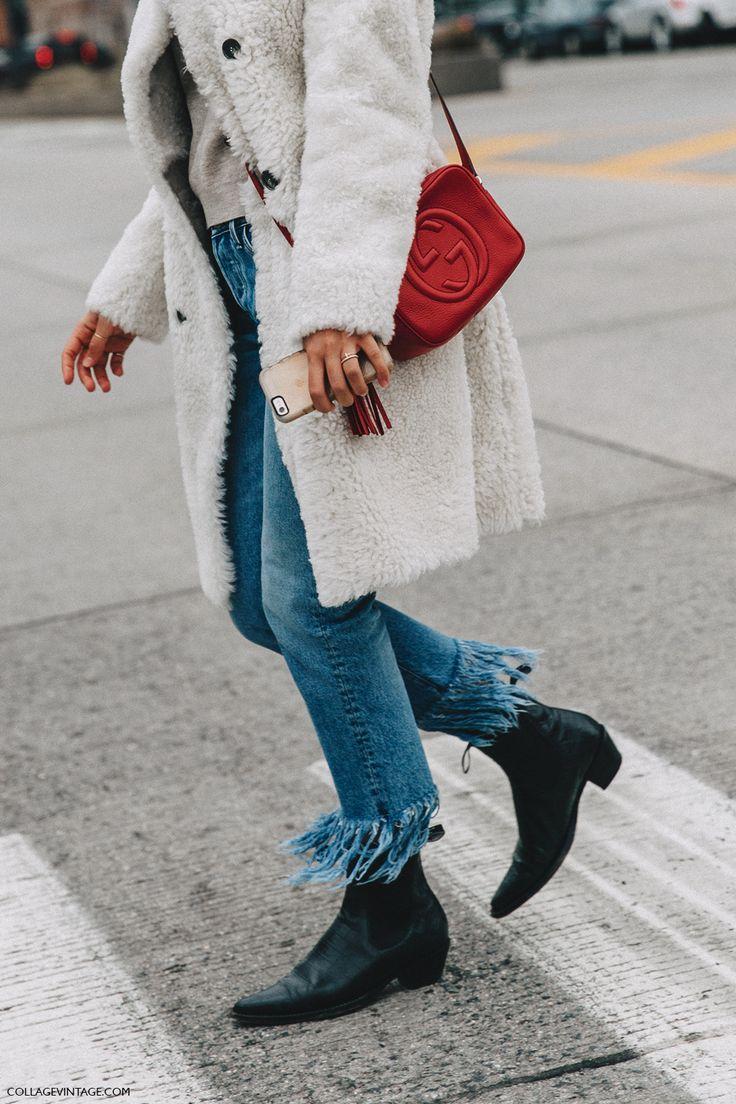 NYFW-New_York_Fashion_Week-Fall_Winter-16-Street_Style-Fur_Coat-White-Fringed_Jeans-2