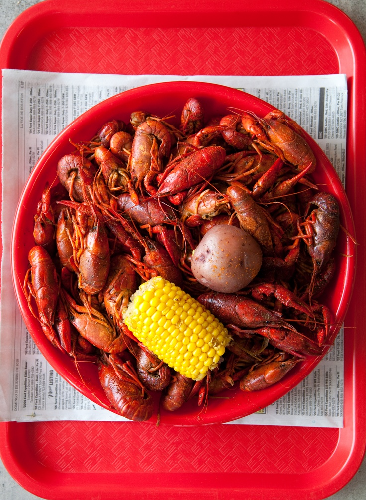 CRAWFISH CRAZY: If/when there was a rehearsal dinner or special day, there would be a crawfish/crayfish boil for sure.