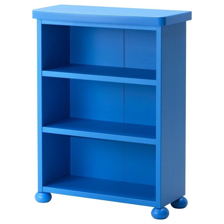 Blue Storage Kids Toy Box Playroom Furniture Bedroom Girls: MAMMUT Shelf Unit - Blue - IKEA