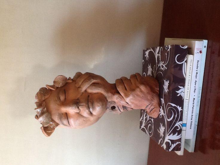 Rostro en cerámica