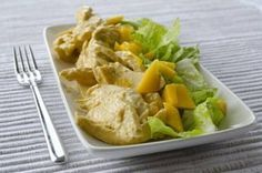 Coronation Chicken (In a hurry) - Original - Slinky Slimmers - Slimming World Recipes