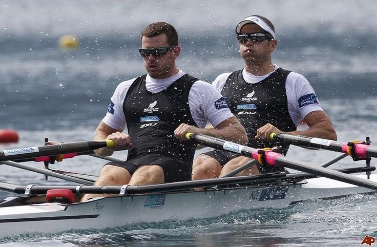 Joseph Sullivan, Nathan Cohen - Rowing - London 2012 - Mens Double Sculls