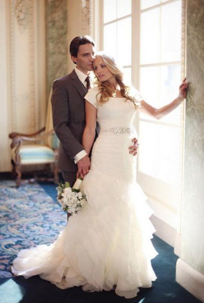 mormon wedding dresses with sleeves