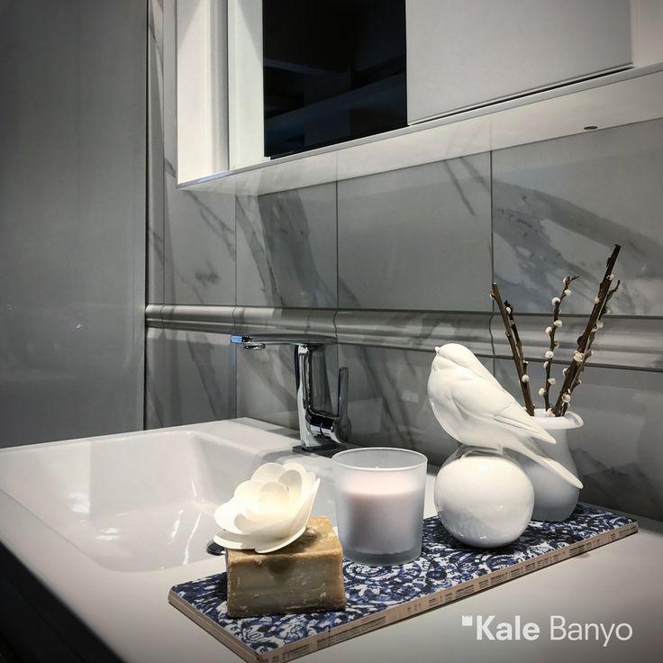Vertigo serisi lavabo bataryası yumuşak hatlarıyla banyonuza elit bir görünüm kazandırıyor. #Kale #Banyo #lavabo #bathroom #bathroomideas