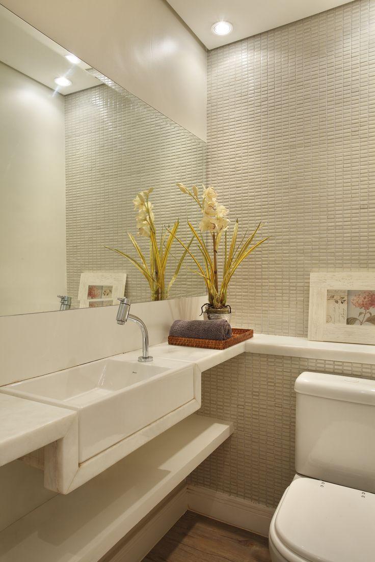 Banheiro - mármore branco