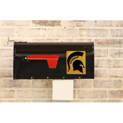 HensonMetalWorks NCAA Curbside Wall Mounted Mailbox NCAA Team: Michigan State University