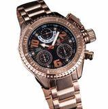Konigswerk AQ202399G Mens Rose Gold Bracelet Watch