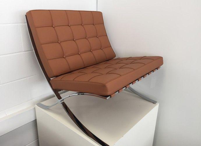 Alivar L. Mies Van Der Rohe Barcelona Chair 334 - Suite 22 Interiors - Markham Toronto