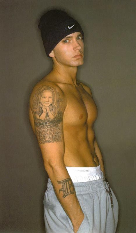 Eminem naked with a girl pic 695