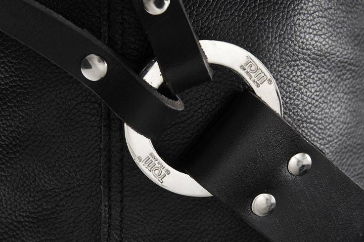 Details of the Fellows leather sack