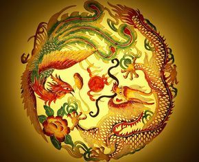 Get the Feng Shui Dragon and Phoenix Marriage Symbol: The dragon and phoenix couple is a Chinese symbol for good luck and harmonious marriage. Because all traditional feng shui symbols are based on Chinese folklore, the dragon & phoenix duo became one of the most popular classical feng shui cures for love.