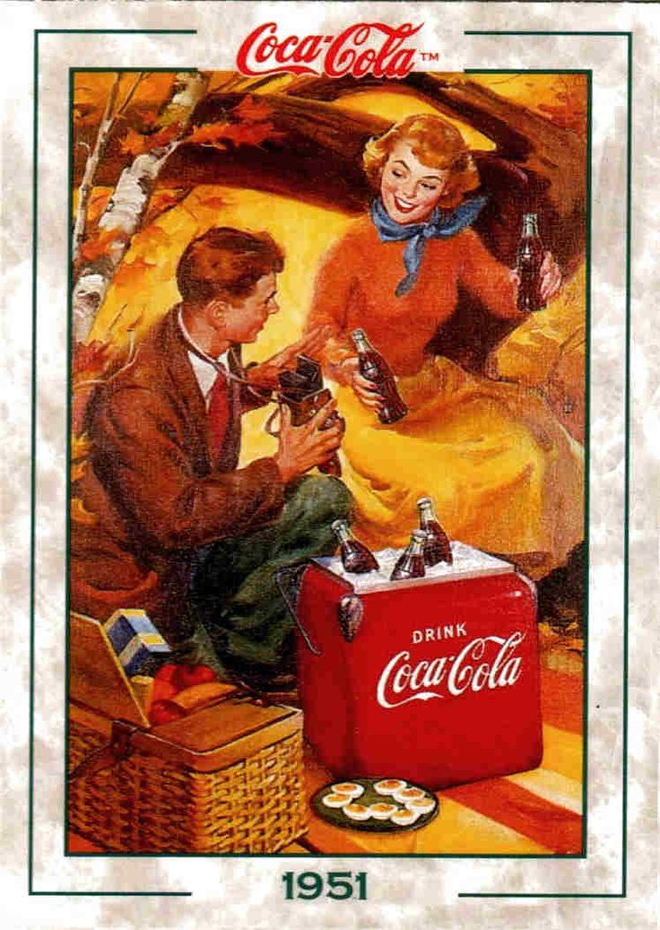 coca cola advertising history - Google Search
