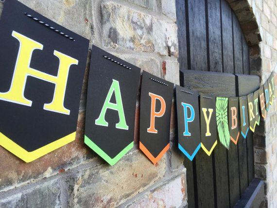 Banner de cumpleaños nuevo Banner feliz cumpleaños por Skrapologie