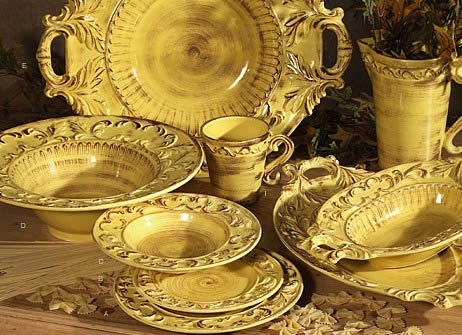 Baroque Honey Italian Dinnerware & 97 best High-end Tableware images on Pinterest | Dishes Beautiful ...