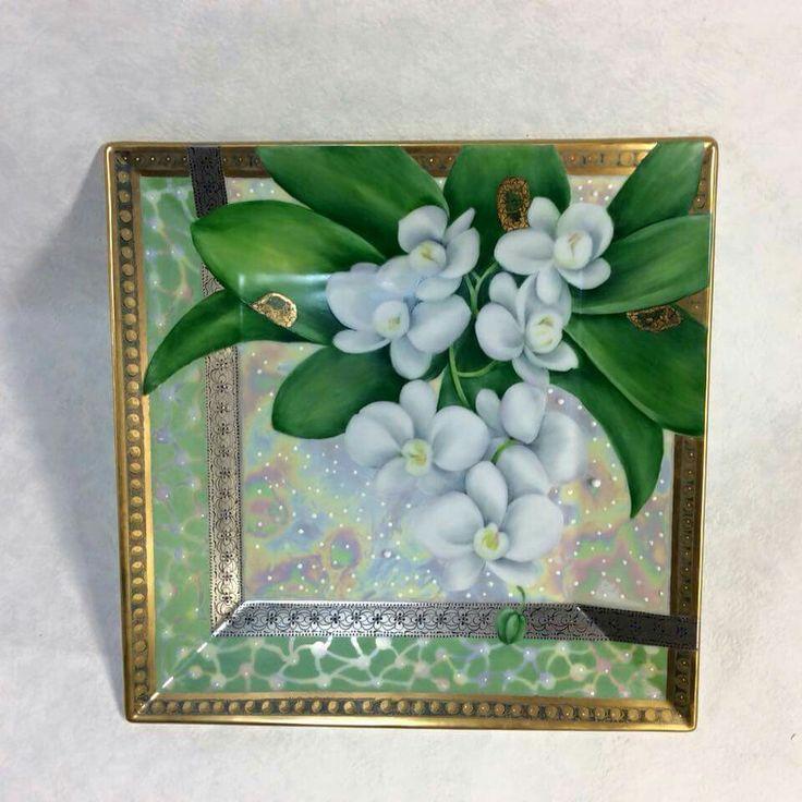 455 Best Images About Peinture Porcelaine On Pinterest Kanazawa Vase And Hand Painted