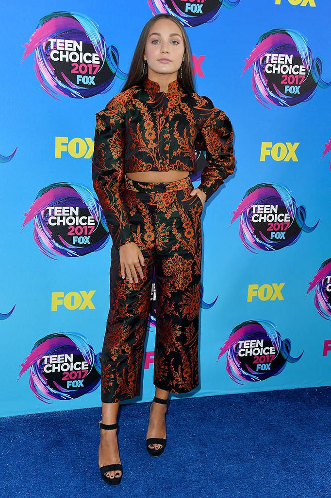 Dance It Out: Best Dressed at 2017 Teen Choice Awards