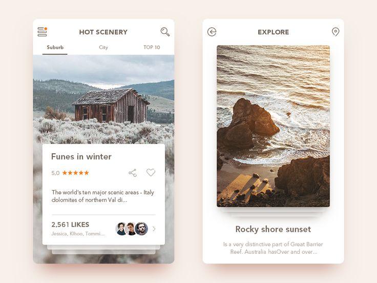 Scenery app