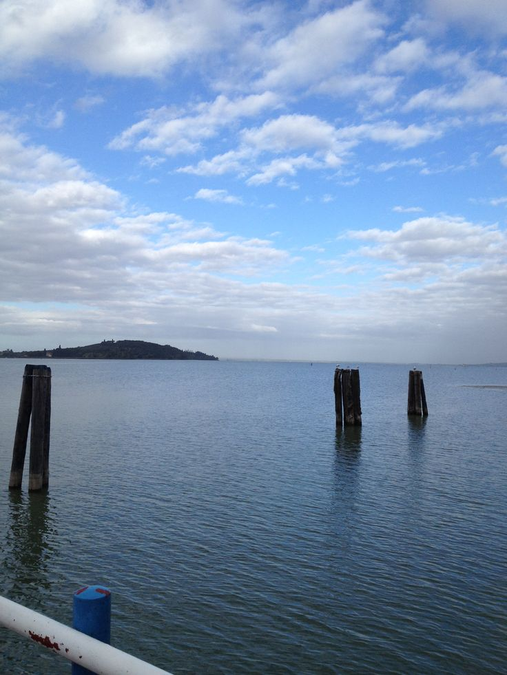 Trasimeno Lake in the morning