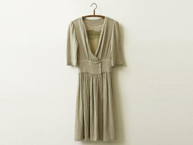 To wear a secret landscape inside your dress-- By Emilie Faif via Muku. Vêtements paysages/ impressions sur vêtements Isabel Marant/ 2006