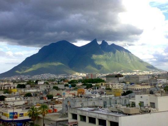 Cerro de la Silla in Monterrey Mexico.