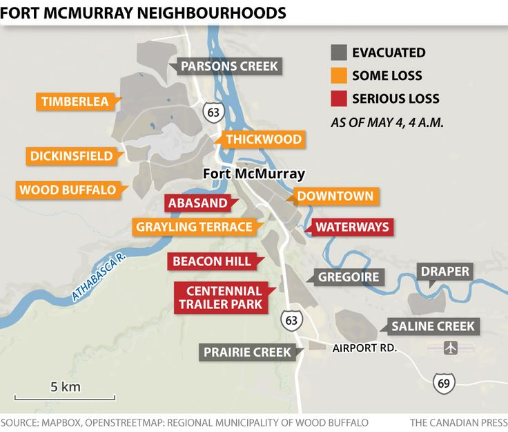 ALTA FORT MCMURRAY FIRE