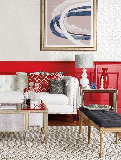 homegoodshappy decor red interior design blog - Interior Design Blog Ideas