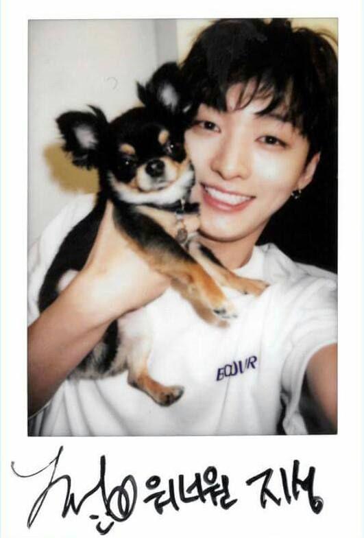 Polaroid Photo - YOON JISUNG
