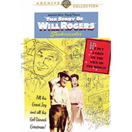 Will Rogers Jr. stars as his own father in this slow, sentimental biopic. The film begins with Rogers' days on his father's ranch in Indian Territory (later Oklahoma). - Movies - National Cowboy Museum