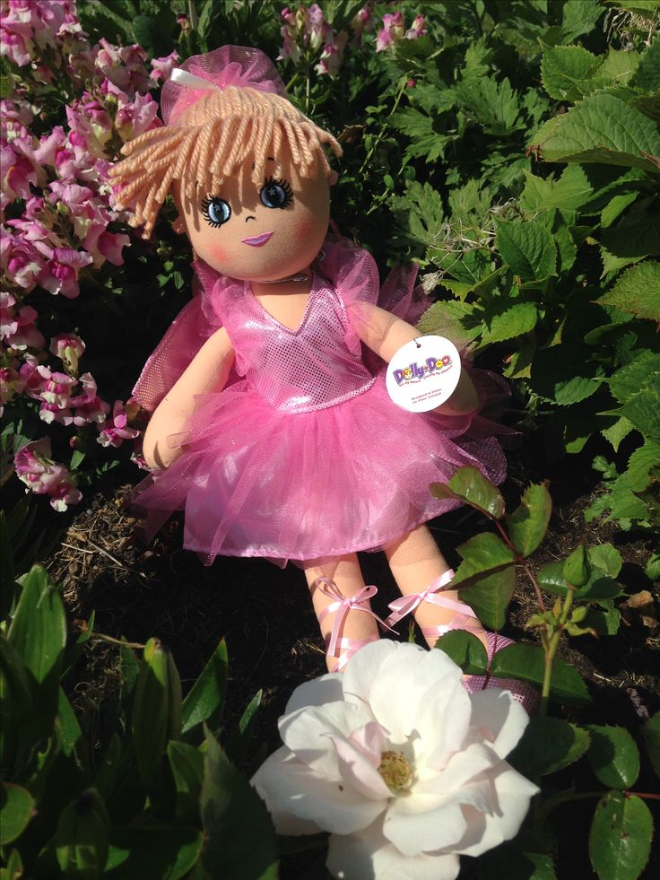 Personalised Rag Doll Fairy Faye! Brings fairy tale magic to every little girl. Available from WowWee.ie