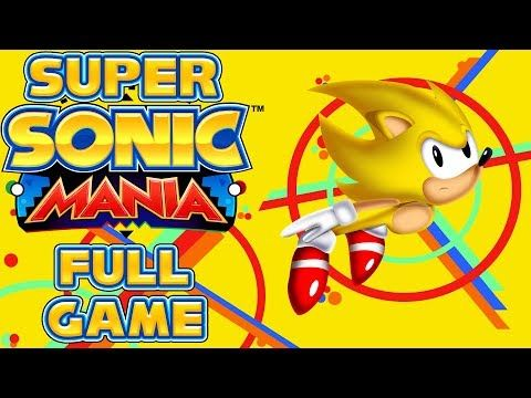 Super Sonic Mania - Full Game as Super Sonic - YouTube