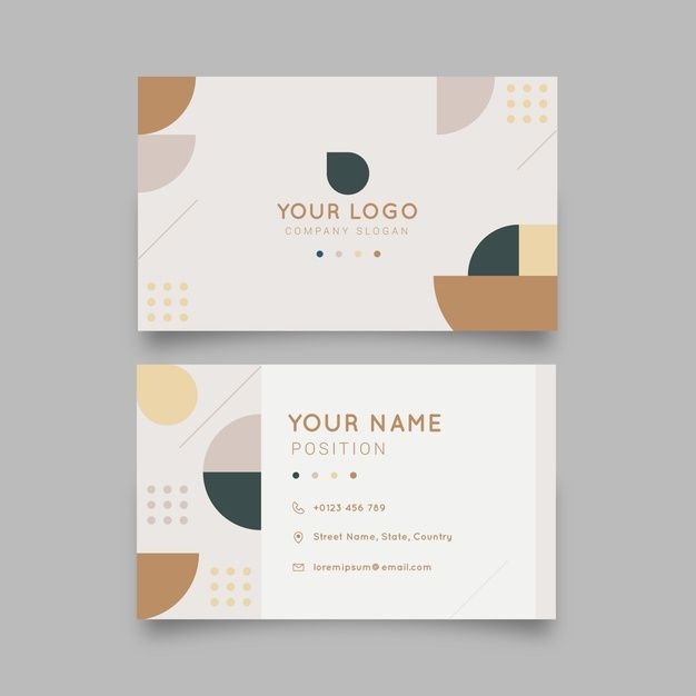 Download Abstract Colorful Business Card Template For Free Colorful Business Card Business Card Template Free Business Card Templates